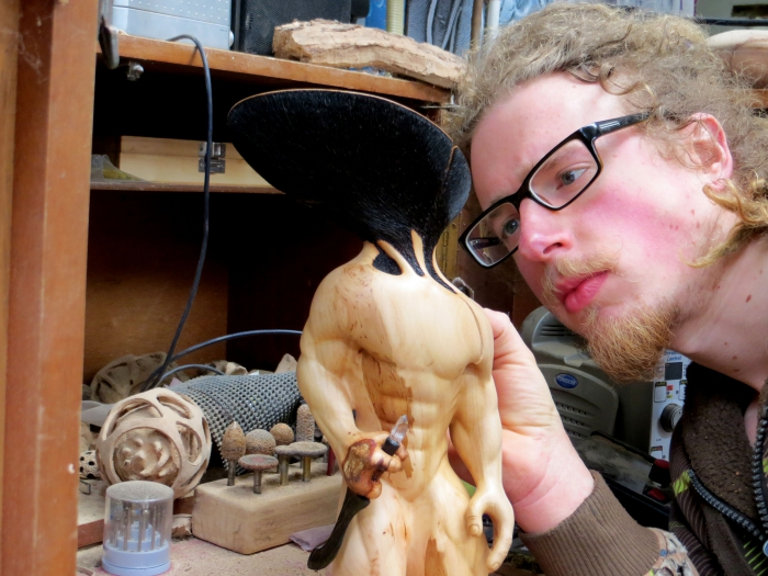 North Yorkshire Open Studios with the work of sculptor Geoff Rushton
